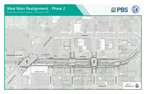 W. Main Realignment Ph 2 Preliminary Project Layout
